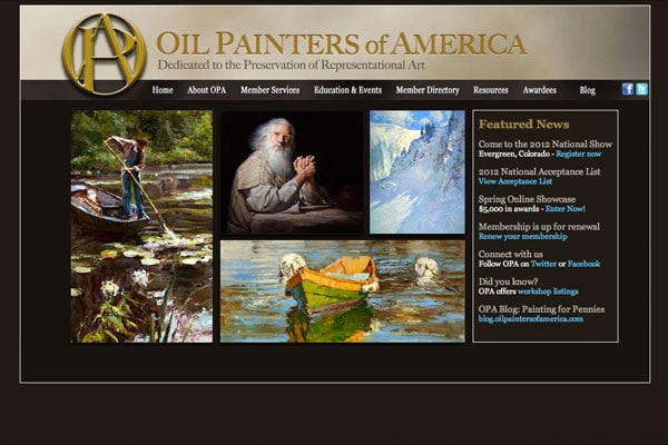 OilPaintersOfAmerica.com