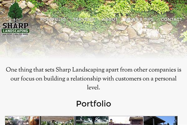 SharpLandscaping.com
