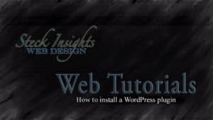 How to install a WordPress plugin video tutorial featured image