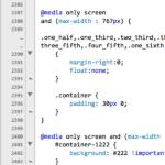 Mobile Responsive Design Code Example