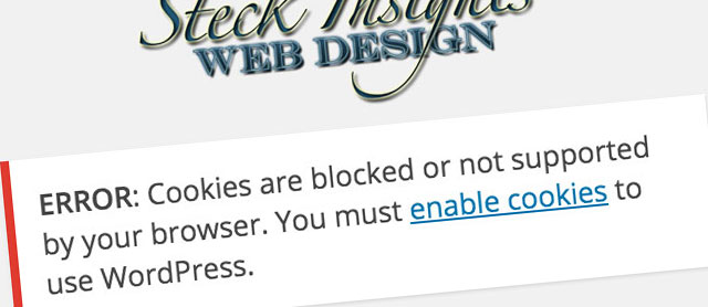 How to Fix A Cookies Blocked Error on WordPress Admin Dashboard